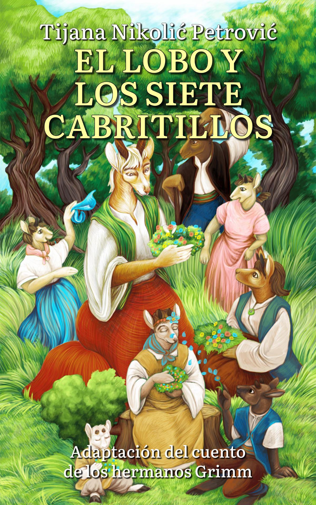El lobo y los siete cabritillos - Front Cover