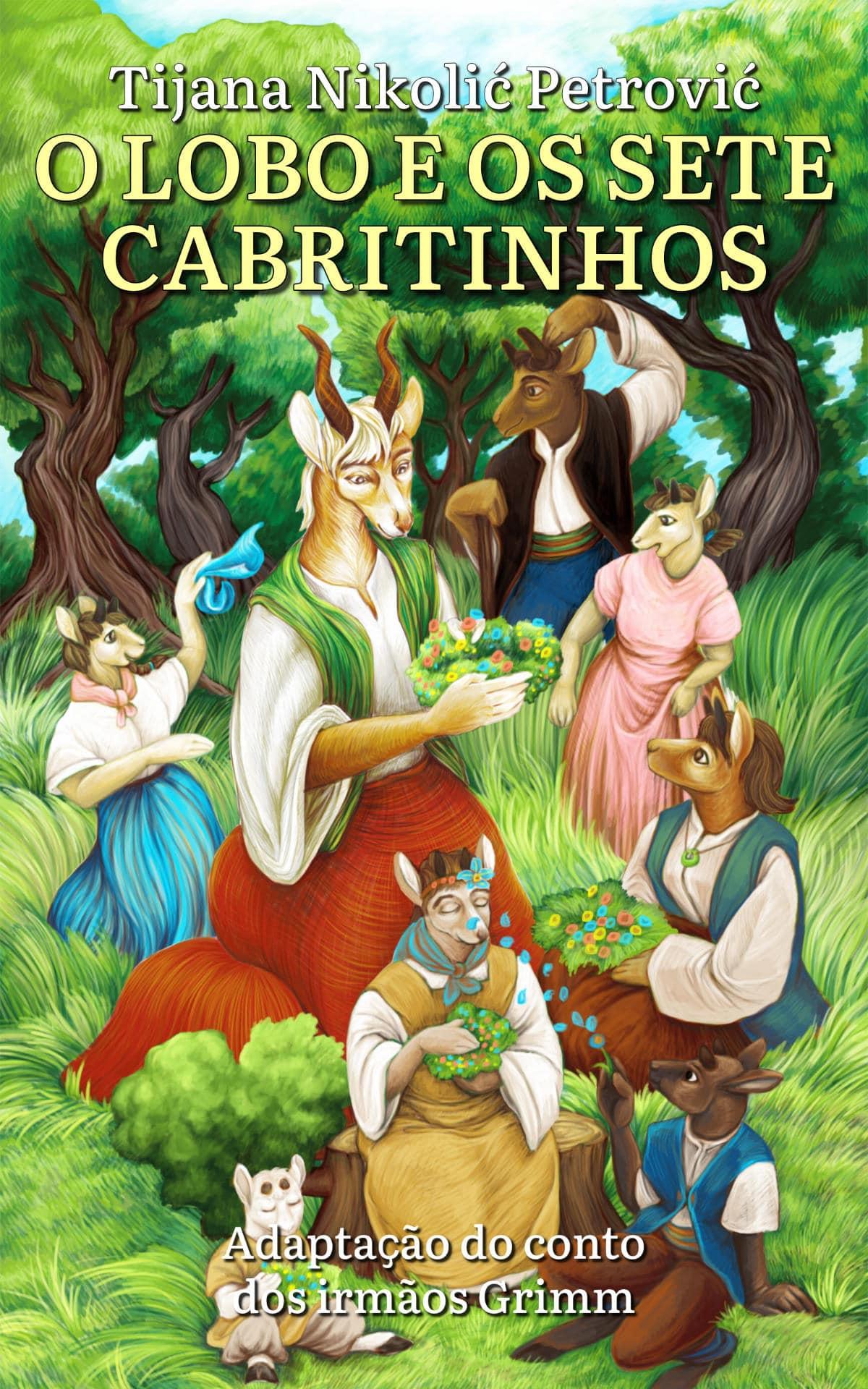O lobo e os sete cabritinhos - Front Cover