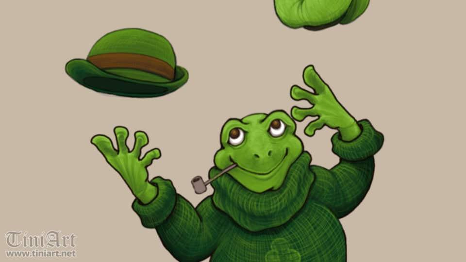 Saint Patrick Frog (Preview)